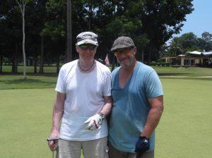 golfing in Duaguete