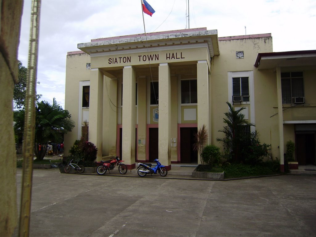 Image result for siaton municipal hall