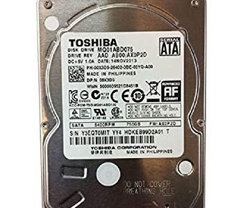 Toshiba MQ01ABD075 – hard drive – 750 GB – SATA 3Gb/s FOR LAPTOPS