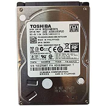 Toshiba MQ01ABD075 – hard drive – 750 GB – SATA 3Gb/s FOR LAPTOPS