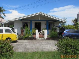 Sibulan Overlooking House and Lot For Sale