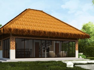 Native Style House with Loft For Sale