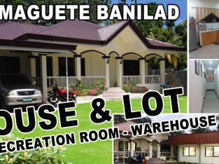 Dumaguete House, Lot and Warehouse for sale