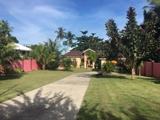 BEACH FRONT HOUSE AND LOT FOR SALE
