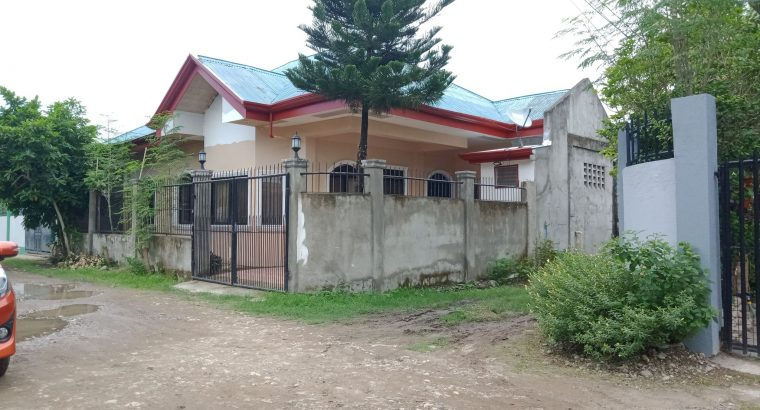 House and Lot for Sale in Bais