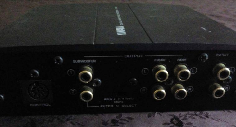 For Sale YAMAHA YDSPC Car Audio Digital Sound Field ProcessorEqualizer