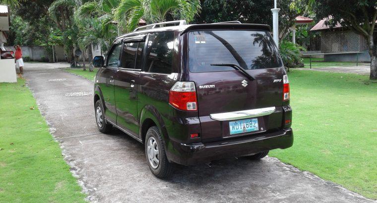 Suzuki APV Automatic Mod. 2013 (7 Seater)