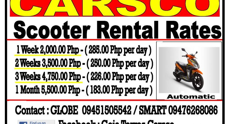 Rent a Suzuki APV Automatic Seater