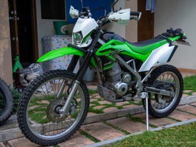 Kawasaki KLX 150L 2016, 11000km, with lots of aftermarket parts