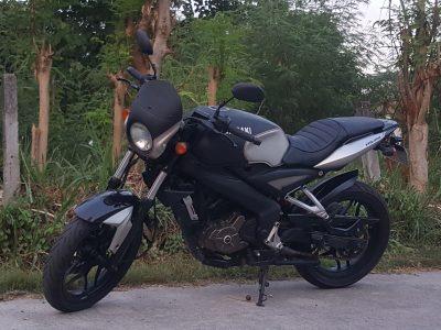 Customized Kawasaki NS200