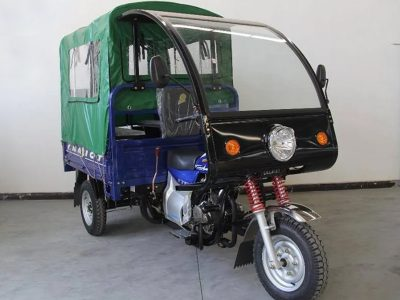 2020 Chariot – blue with green soft top rear cover