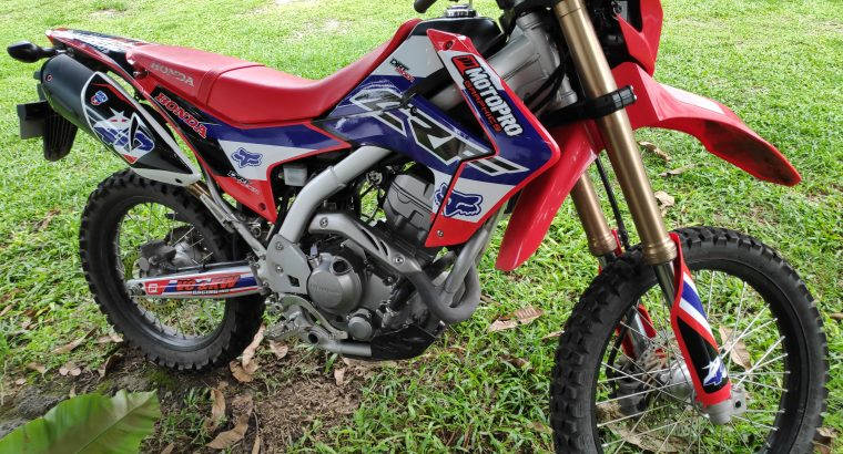 HONDA CRF250L for sale