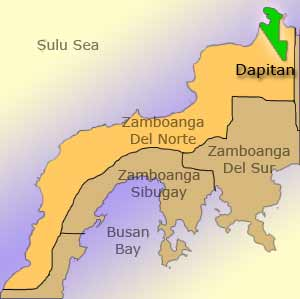 Dapitan map