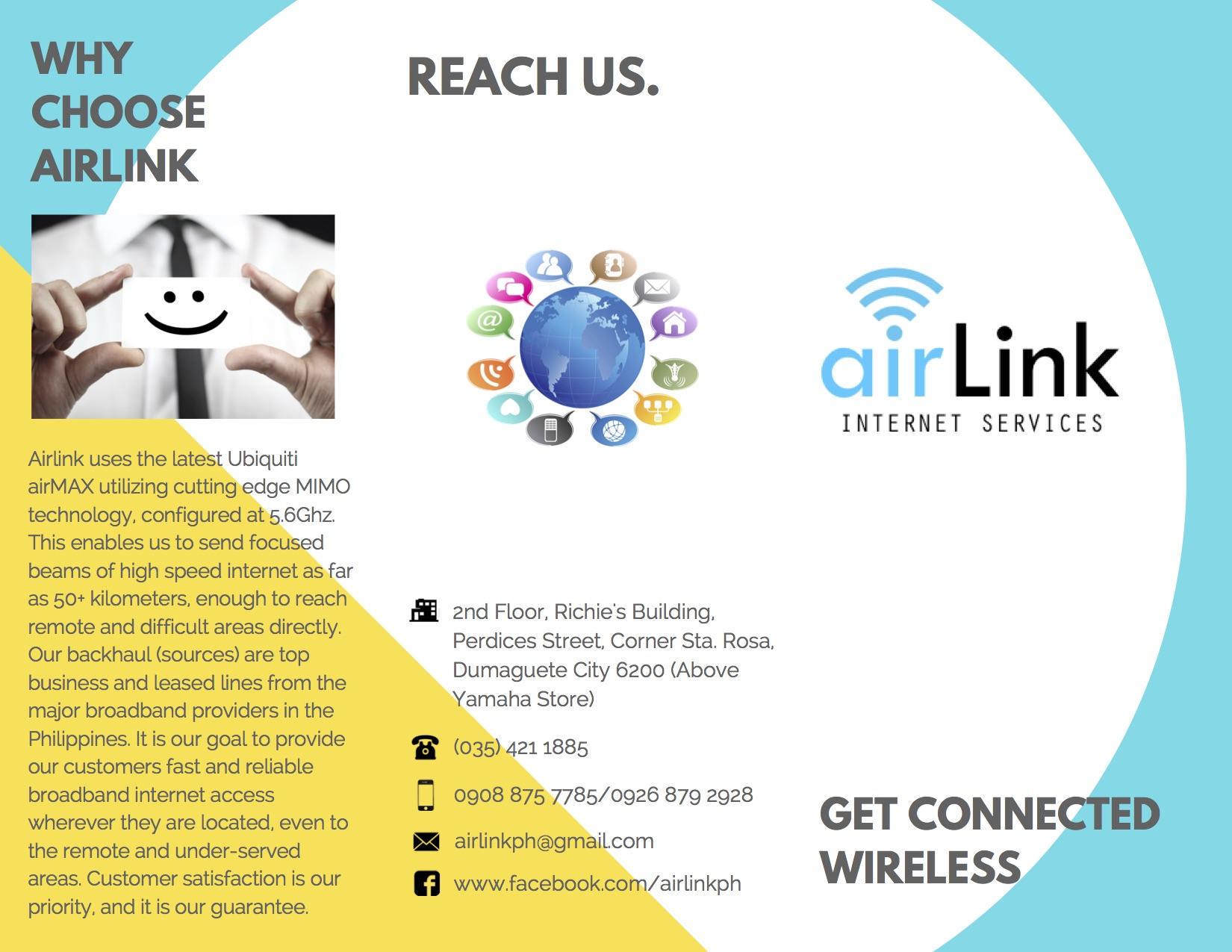 AirLink Internet Services | DumagueteInfo Reviews