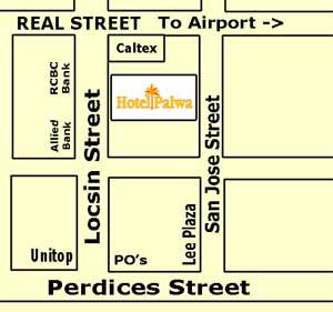Dumaguete Hotel Palwa Map