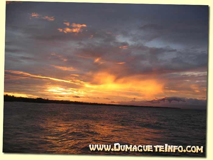 sunset in Siquijor
