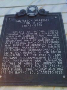 Leon Kilat Monument