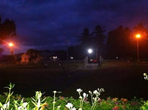 Bacong Park During Night Time