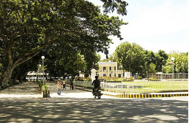 Park in Bacong, Negros Oriental