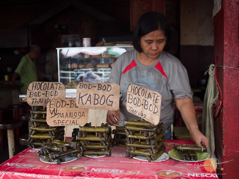 Budbod at Public Market in Dumaguete City