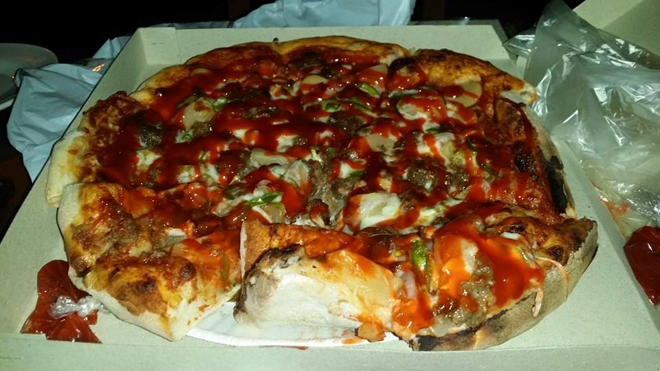 Inexpensive Pizza at Nevis