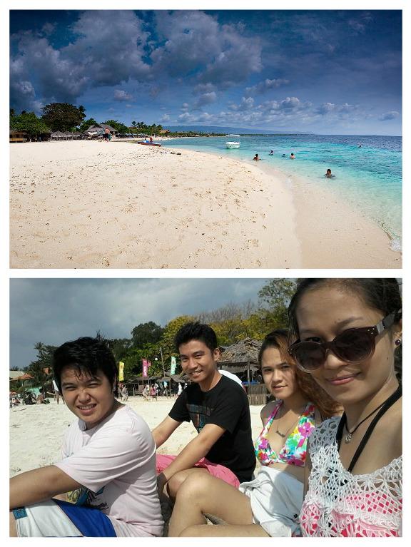At Basdaku Beach with friends.