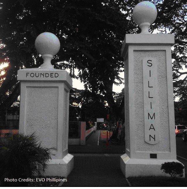 Gate at Silliman University