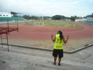 Stay fit - track and field