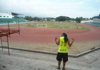 Track and field in Dumaguete