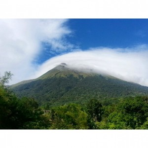 The mighty and majestic Mt. Canlaon in Negros